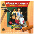 "Buy Workmanship CD and get free ""52 Scriptures Which Teach Values"" including cards to cut out for memorization"