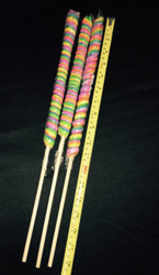 "18"" Twisted Pop 60count Rainbow/CASE"
