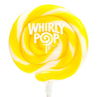 "Whirly Lollipops 3"" Yellow 60ct CASE"