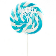 "Whirly Lollipops 3"" Blue 60ct CASE"