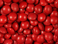 Chocolate Gems 15 Pound CASE - Red