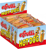 E.Frutti Gummi Hot Dog 1 pack 60 Count