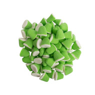 Gummi Drops Green and White 2.2lbs