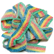 Sour Power Belts Quattro Multi Flavor 1.5 LBS/JAR