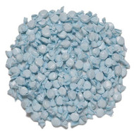Wrapped Hard Candy Light Blue Raspberry Flavors 2.5 Lbs