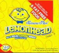 Lemonhead Lemon Head Candy 1 box 24 units