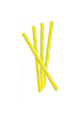 Circus Candy Sticks Yellow and White 10 count