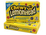 Chewy Lemonhead Blue Raspberry 1 Pack 24 units