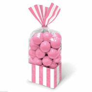 Candy Favor Bags 10 ct Light Pink