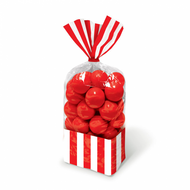Candy Favor Bags 10 ct Red
