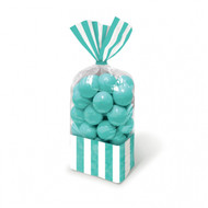 Candy Favor Bags 10 ct Teal