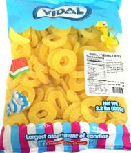 Gummi Pineapple Rings 2.2lbs