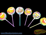 "Emoji 3.5"" Lollipops  6 ct."