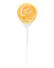 Swirly Lollipops Orange 24 Pops