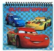 Cars Autograph Book ea.