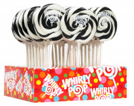 "3"" Whirly Lollipops Black 12 Count 1.5oz"
