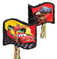 Cars Lighting McQueen Flag Pinata