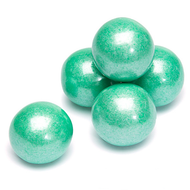 Gumballs Shimmer Turquoise 12 Pounds CASE