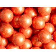 Gumballs Shimmer Pearl Orange 12 Pounds/CASE