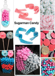 Gender Reveal Candy Buffet Candy Kit Will serve 70 to 80 People Candy Bar