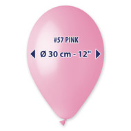 "Gemar Pink Balloons 12""/50 count Pack"