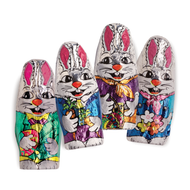 Easter Bunny Foiled Milk Chocolate/ 1 Pound