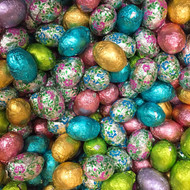 Easter Eggs Foiled Milk Chocolate/ 1 Pound