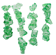 Rock Candy Green Lime on String 2.5 Lbs