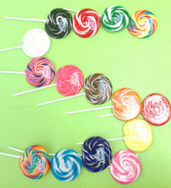 "Assorted 3"" Whirly Lollipops 12 Count 1.5oz"