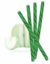 Circus Candy Sticks Green 10 count