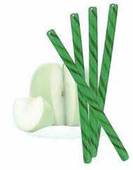 Circus Candy Sticks Green 100 count 1 Case