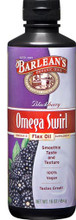 Barleans Omega–3 Flax Oil Supplement - Omega Swirl Blackberry