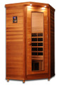 Clearlight Premier IS-1 Cedar Infrared Sauna - 1 Person