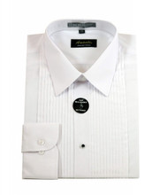Amanti Convertible Cuff Tuxedo LayDown Dress Shirt (without Bow Tie)