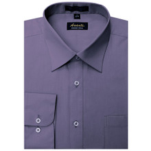Amanti Black Berry Color Dress Shirt