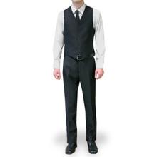 Figlio Lontano 3 Piece Slim Fit Suit - Black