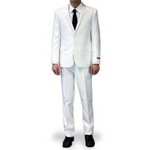 Dolce Vita Slim Fit Suit - White