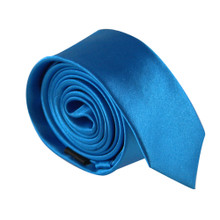 Amanti Italian Style Skinny Tie Teal