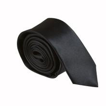 Amanti Italian Style Skinny Tie Black