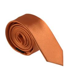 Amanti Italian Style Skinny Tie Orange
