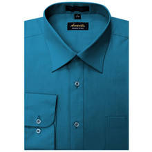 Amanti Ocean Blue Color Dress Shirt