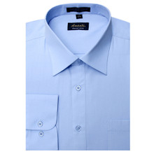 Amanti Baby Blue Color Dress Shirt