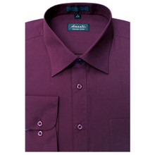 Amanti Burgundy Color Dress Shirt
