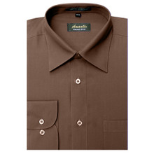 Amanti Brown Color Dress Shirt