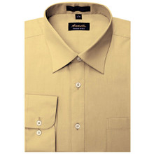 Amanti Mustard Color Dress Shirt