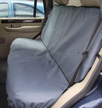Back Seat Cover - Grey