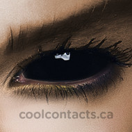 Sclera Sabretooth 22mm (black sclera contacts)