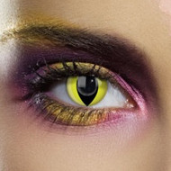 CV Yellow Cat Contact Lenses
