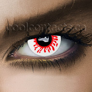 Blood Splat Cool Contact Lenses
