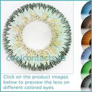 Dark Green Contact Lenses